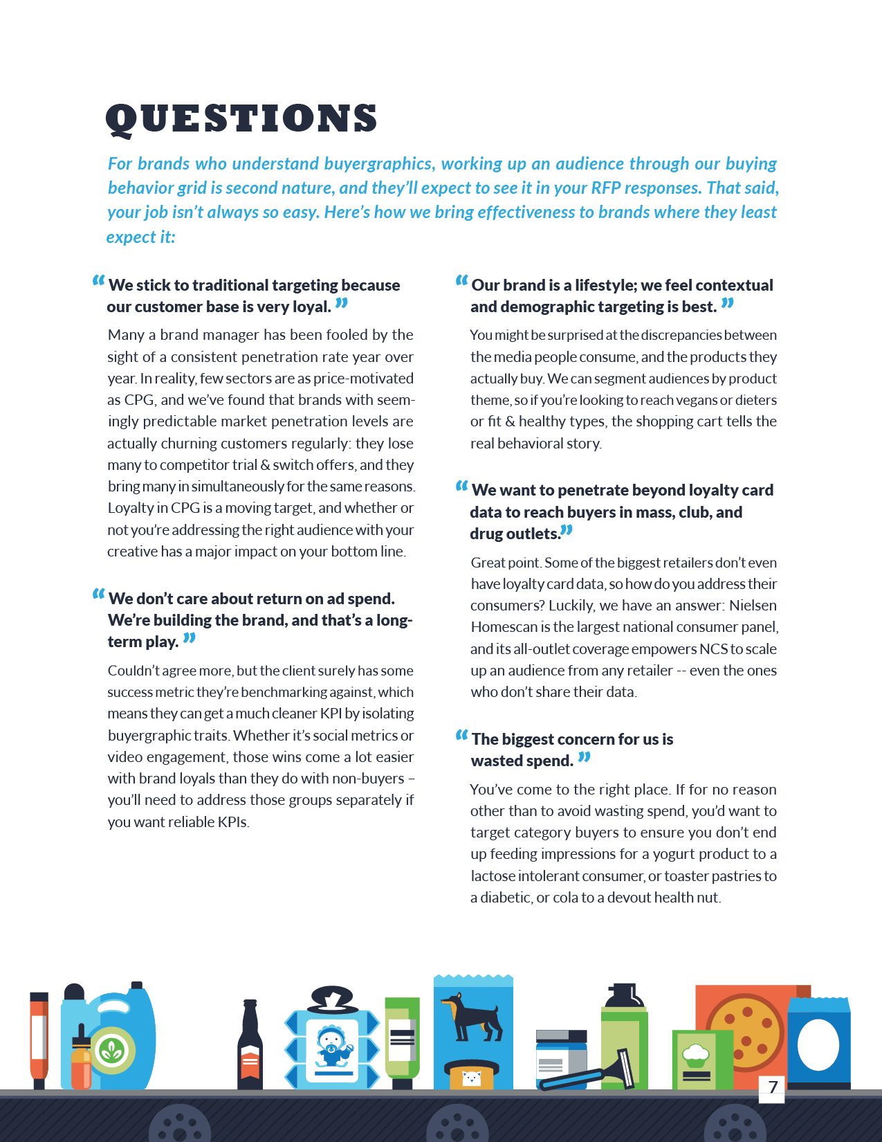 How to Grow CPG Business, inside page 7