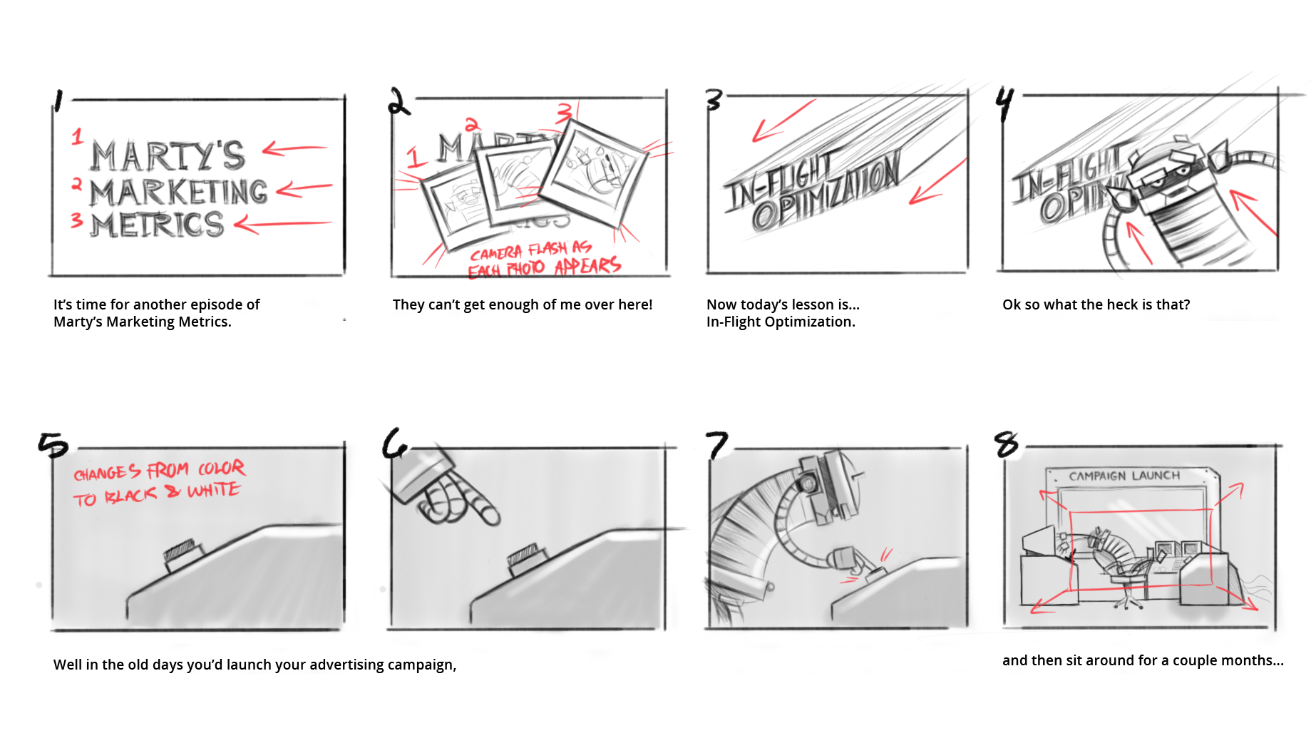 In-Flight-Optimization storyboard page 1