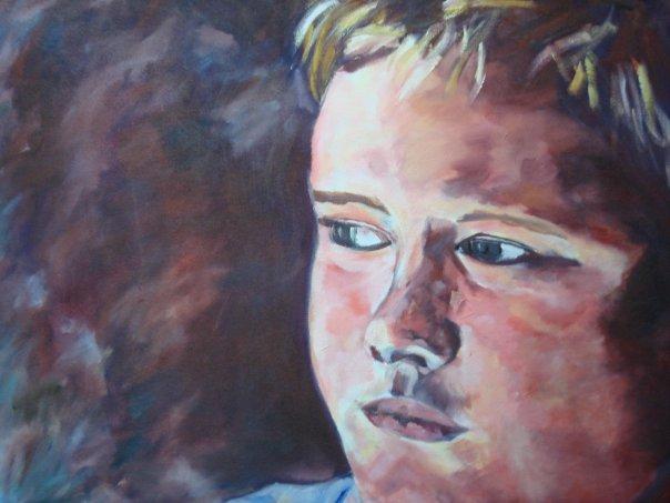 "Romeo | Oil on canvas | 24 x 30"" | 2007"