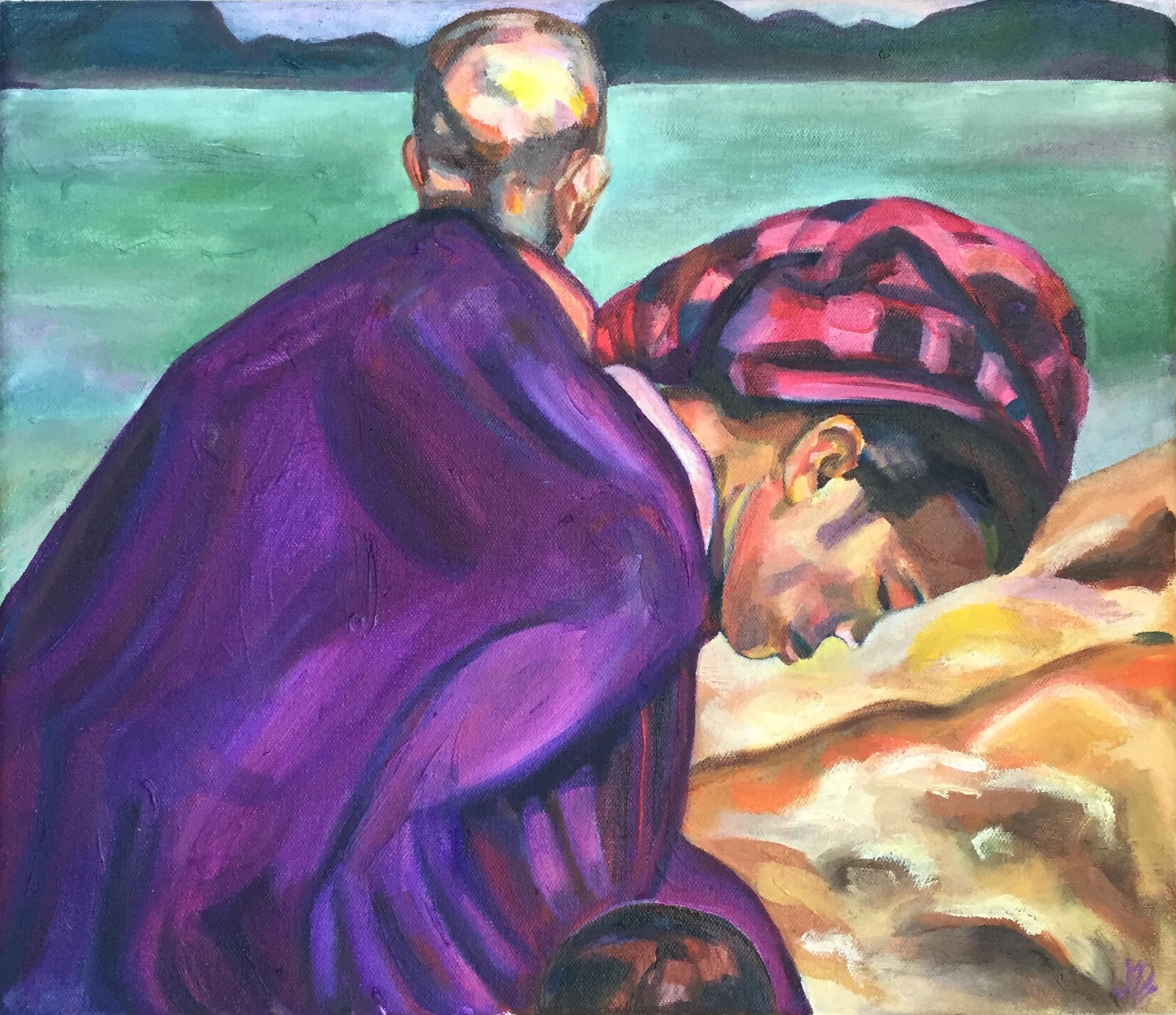 "Work | Oil on canvas | 11 x 13.5"" | 2015"