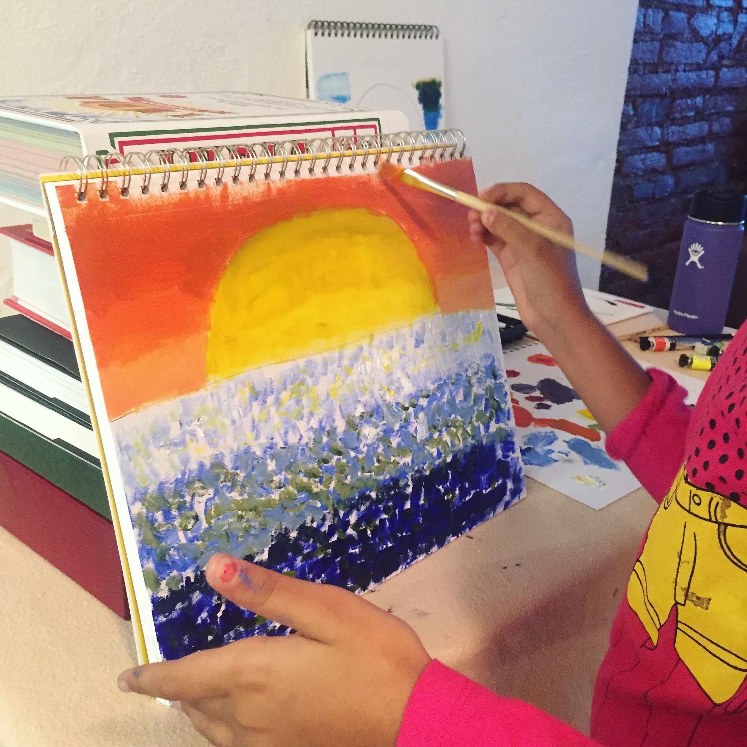 Yesha Patel | 8 years | Ten Hour Introduction to Oil Painting