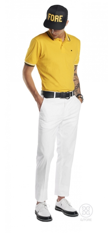 G/FORE puts DRY-TEX moisture wicking technology to work to keep you cool and comfortable. Dad says this look is tight! Oh,Dad. When he's right, he's right.