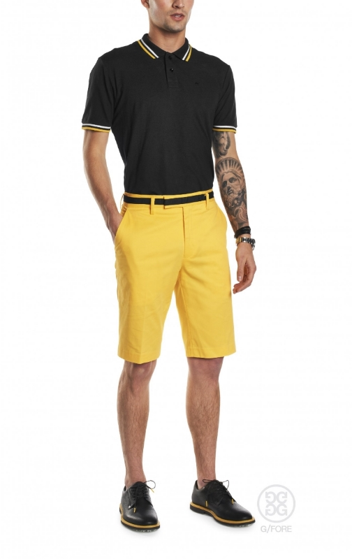 Yellow shorts y'all. Massimo calls them Fly. We can't disagree.  Call me a bumblebee and I'll kick your ass 9 & 8, like Tdub over Ames.