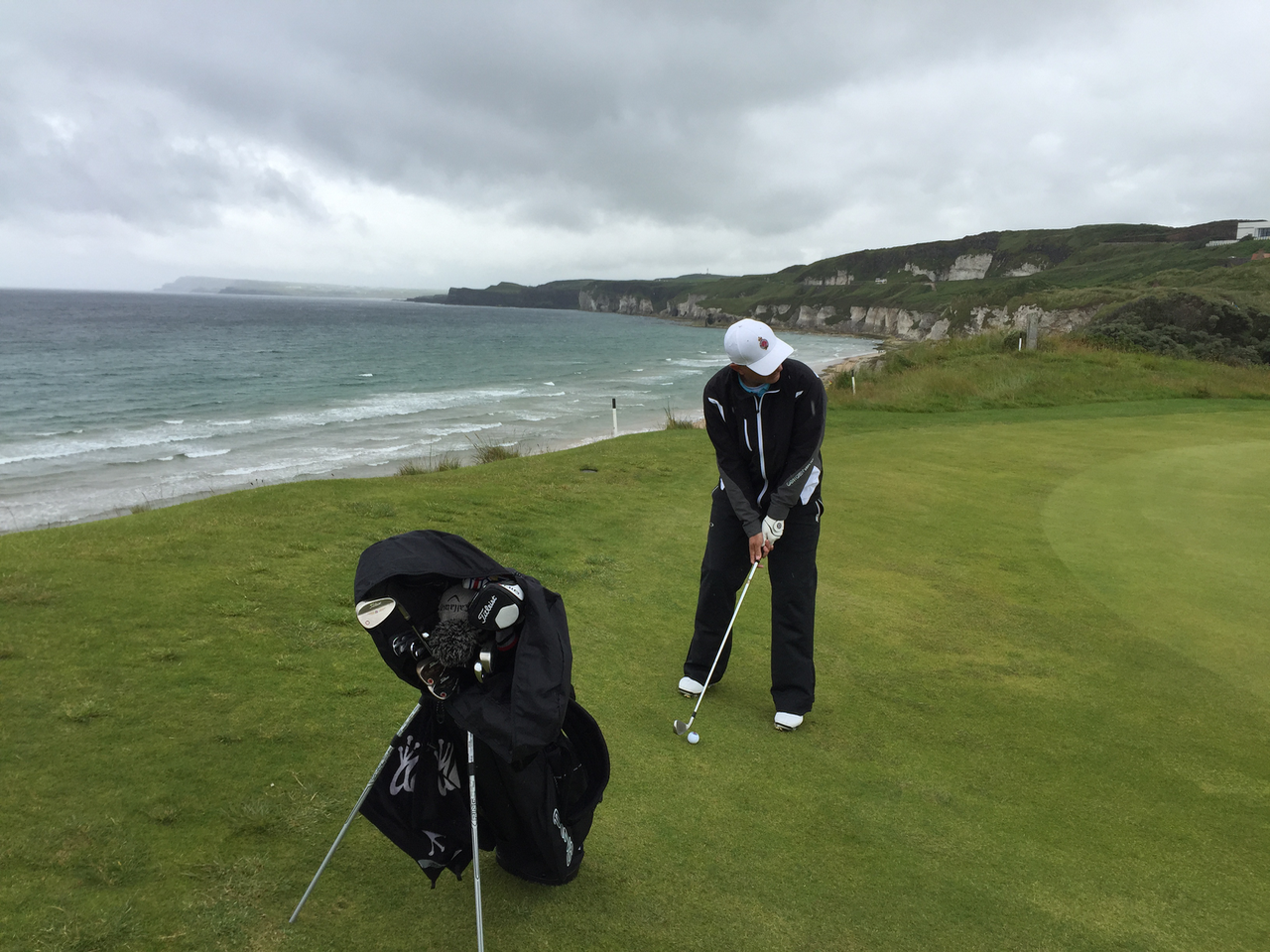 The fifth at Royal Portrush Golf Club, Dunluce course