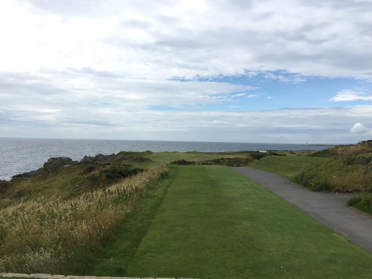 Ardglass Golf Club, third tee
