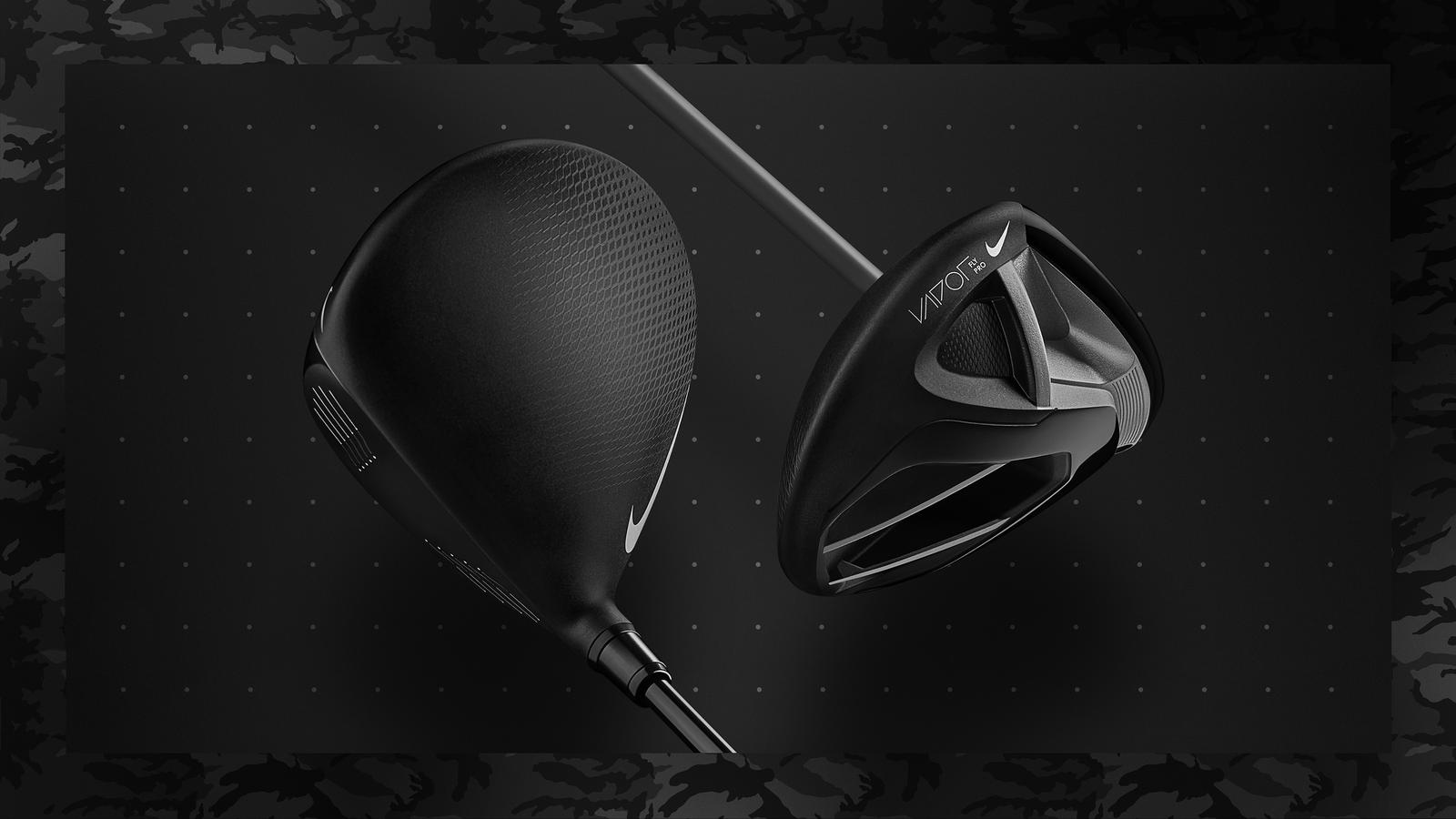 Limited edition Vapor Fly and Vapor Fly Pro drivers in matte black.