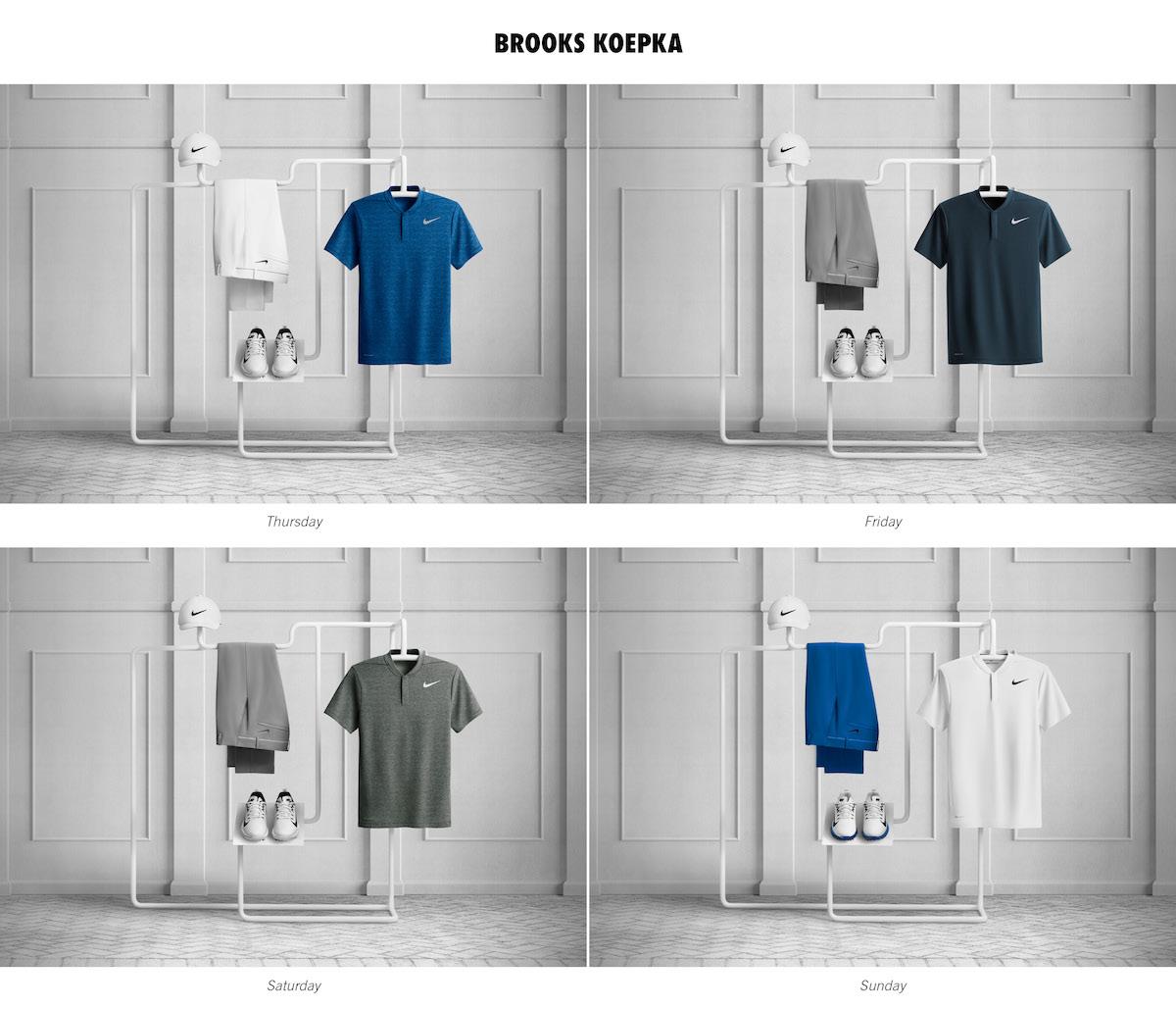 Brooks Koepka - Nike Golf