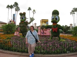 Oct 15 - Epcot and Ursula's birthday