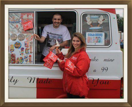 Heart Radio  Swindon at the Big Arts Day,  Lydiard Park