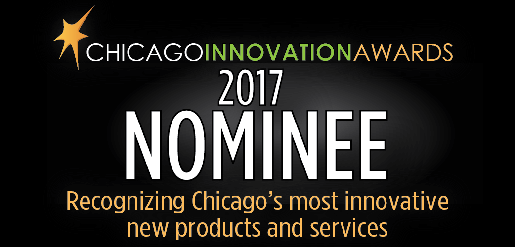 2017 Chicago Innovation Awards nominee badge.png