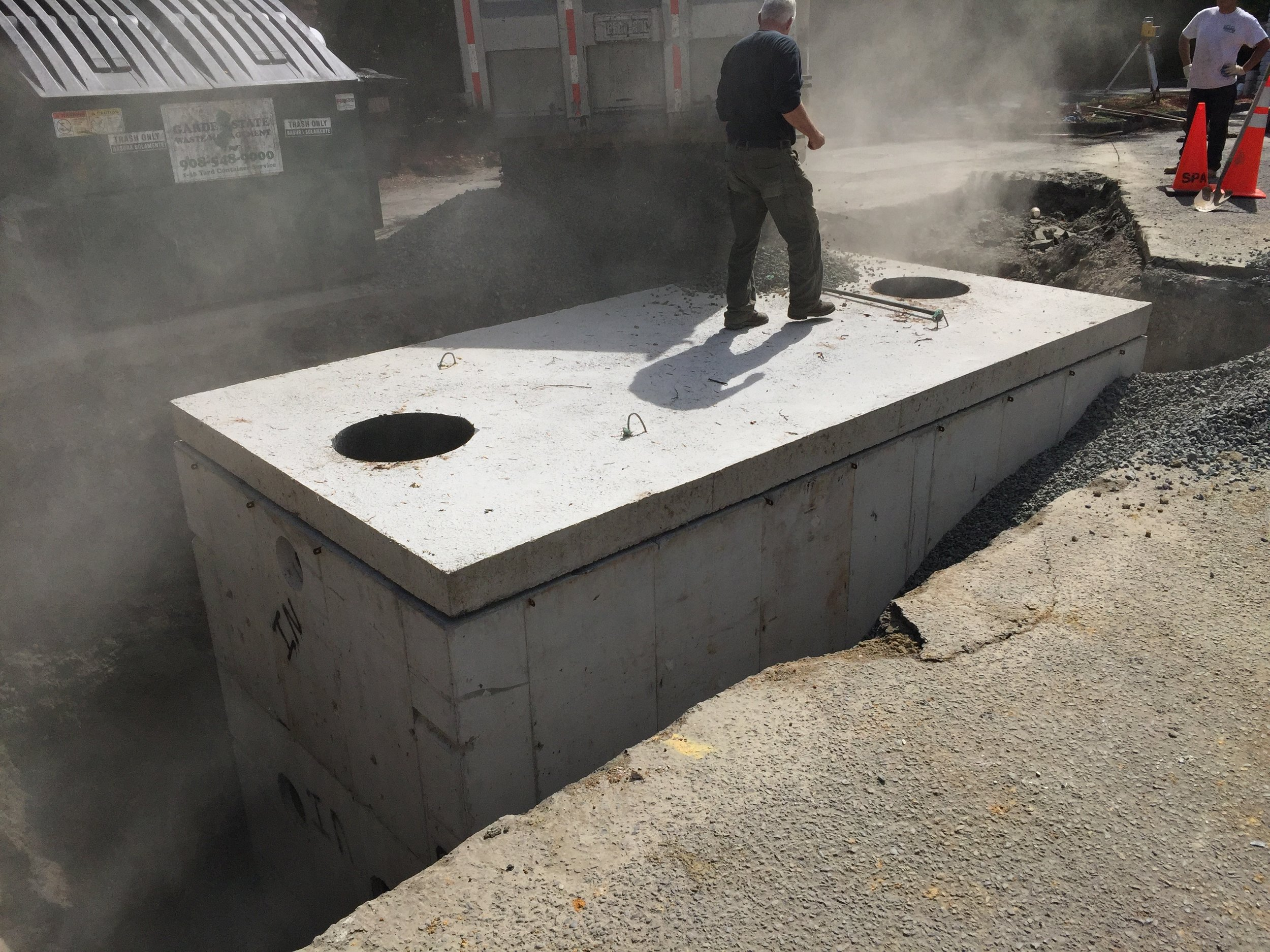 Chester Diner Grease Trap