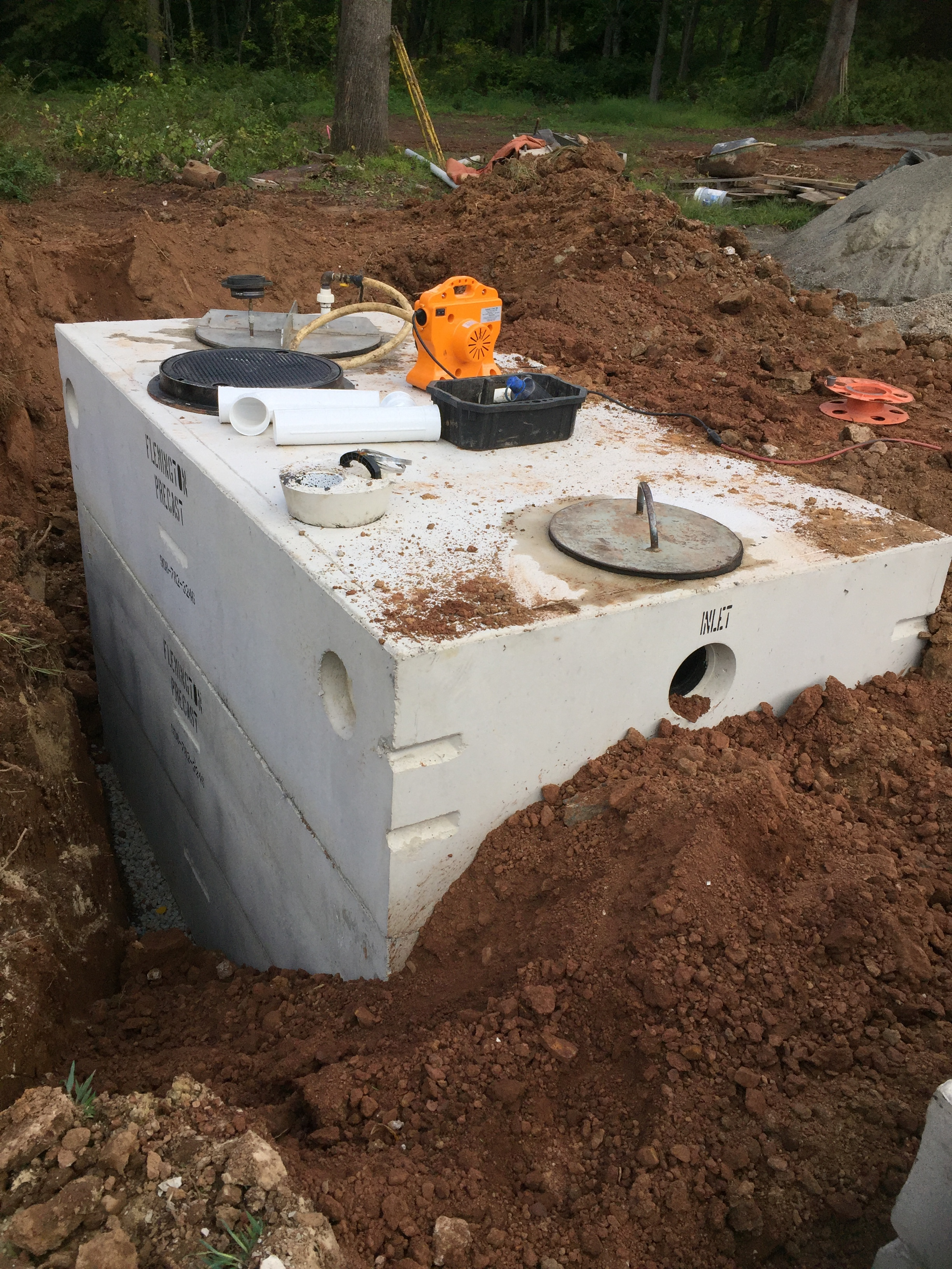 Pump/Dosing Tanks
