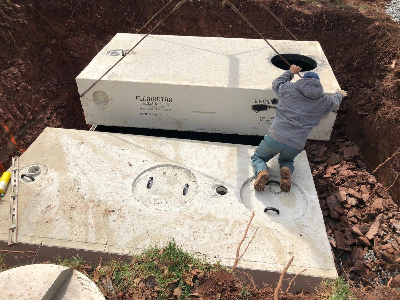 Septic Tanks — Flemington Precast & Supply