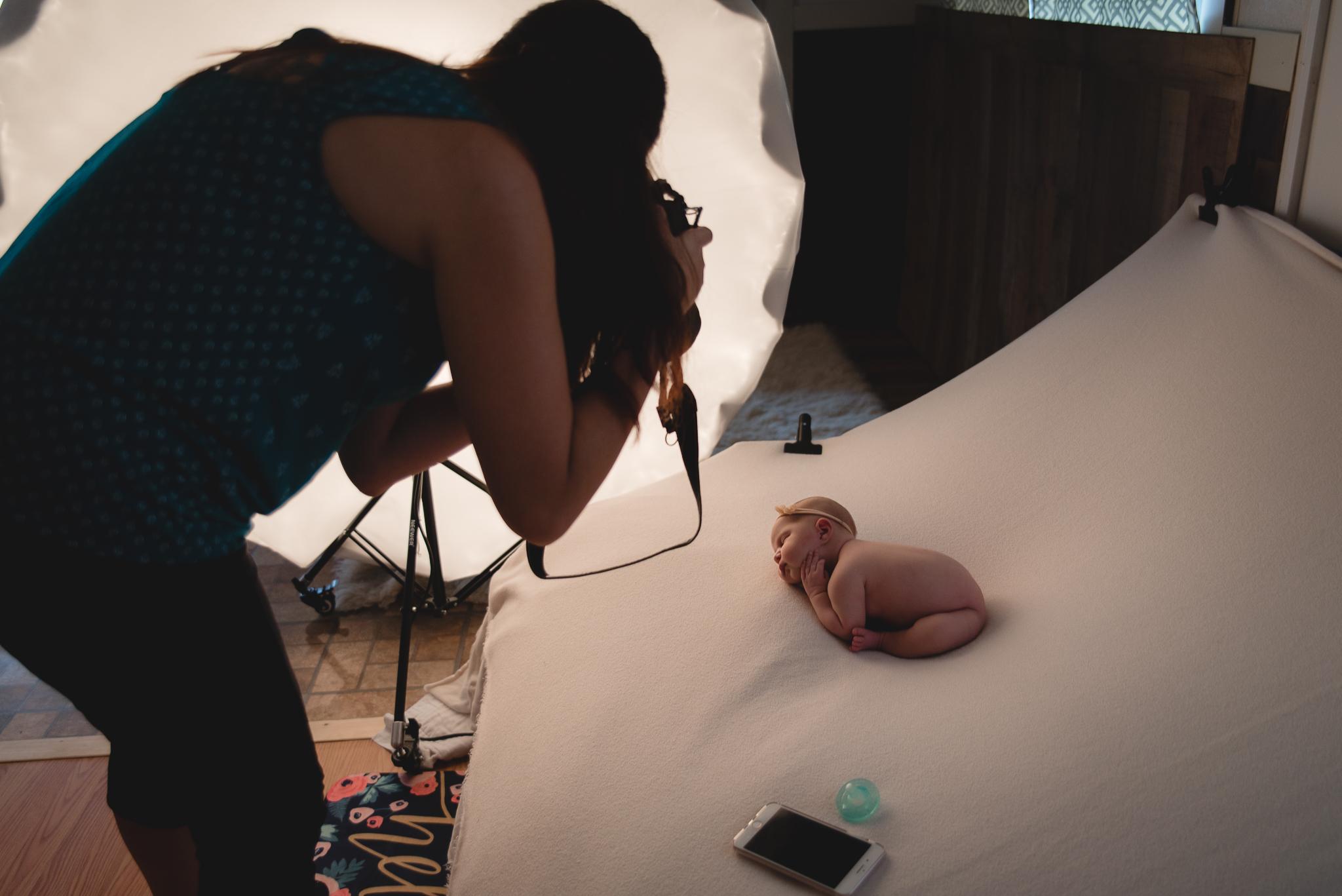 Buffalo Newborn Photographer mentoring
