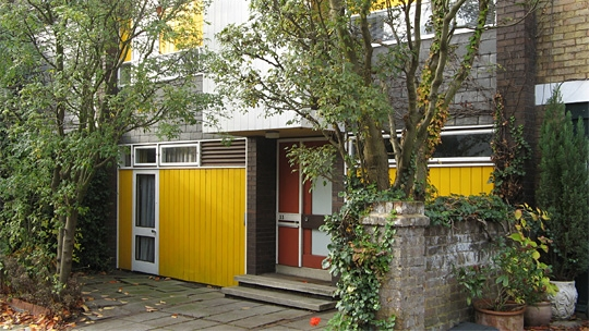 The Hyde-Harrison House, Murray Mews, Camden