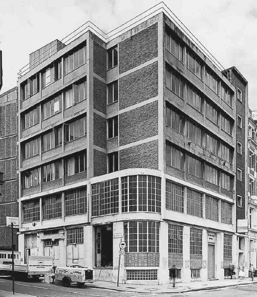 Goldfinger's Daily Worker building, Farringdon