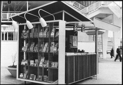 Goldfinger design for Festival of Britain kiosk, 1951