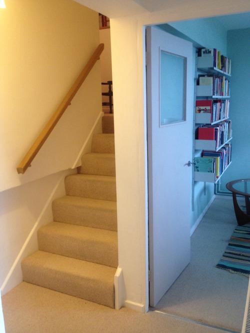 Perronet House, flat, lower stairway
