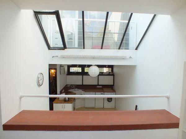 Mansfield Road, skylight between sitting room & kitchen