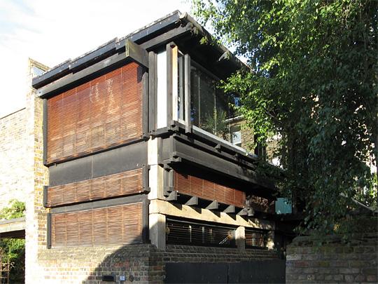Cullinan House, Camden Mews, today