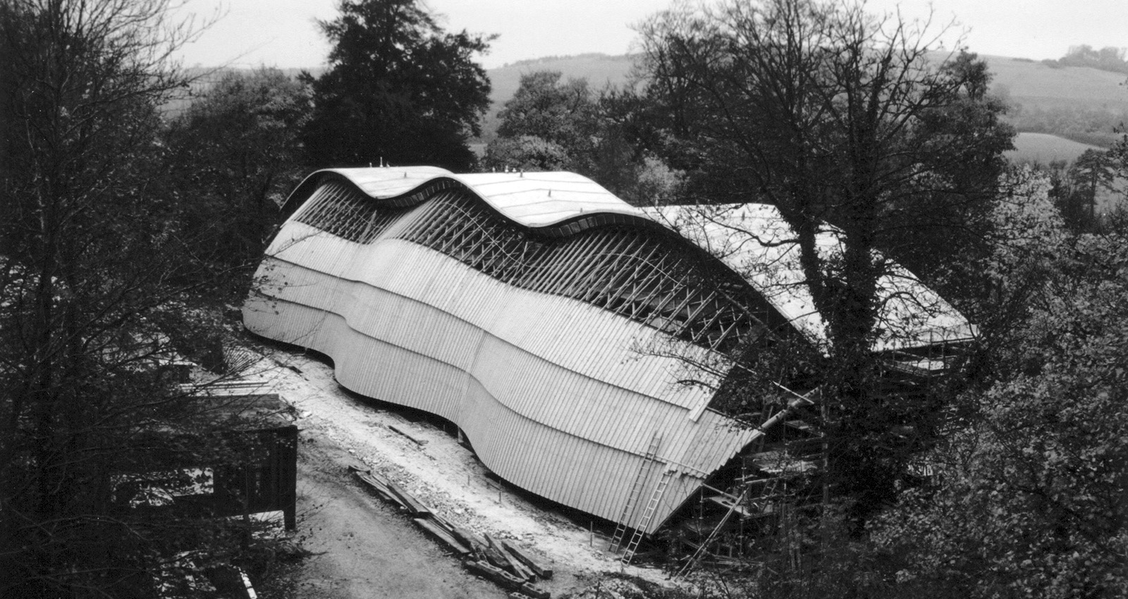 Gridshell, Weald and Downland Open Air Museum, West Sussex