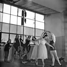 Audrey Hepburn dancing in Maarja Speerings' studio