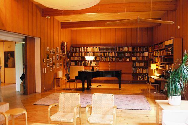 Joonas Kokkonen's music room