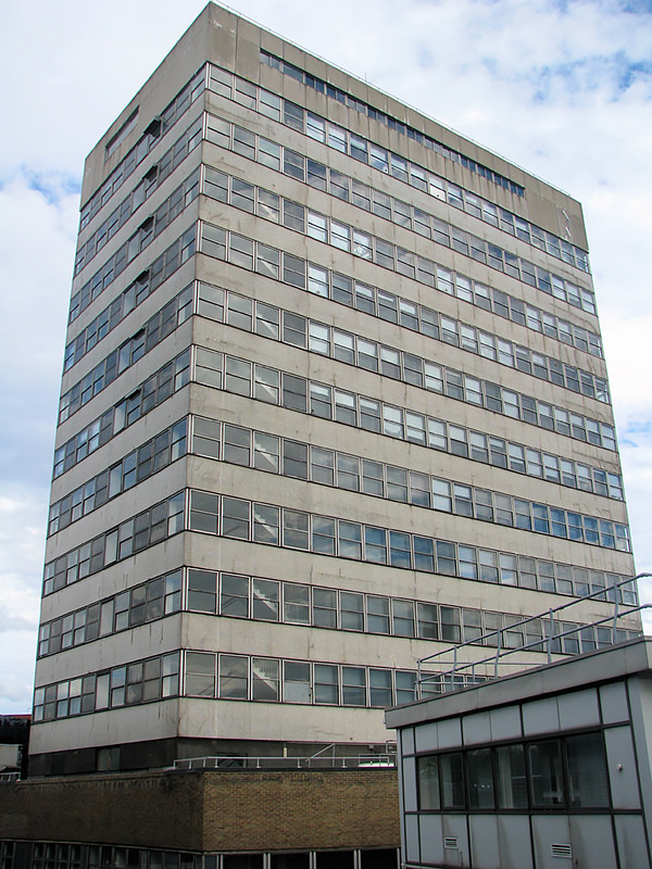 East Tower from Wood Lane
