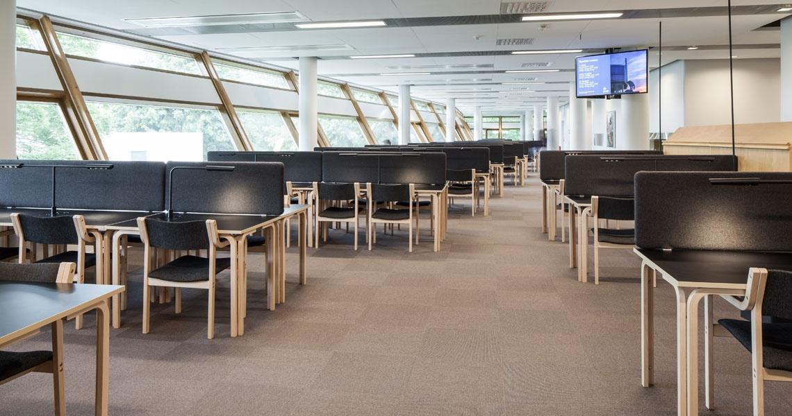 Frescati University Library, new interior