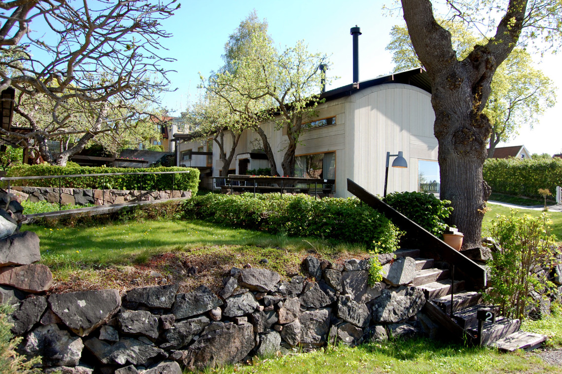Ralph Erskine's own home, Drottningholm
