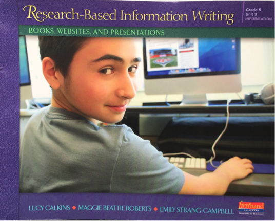 Research-Based Information Writing: Books, Websites, and Presentations