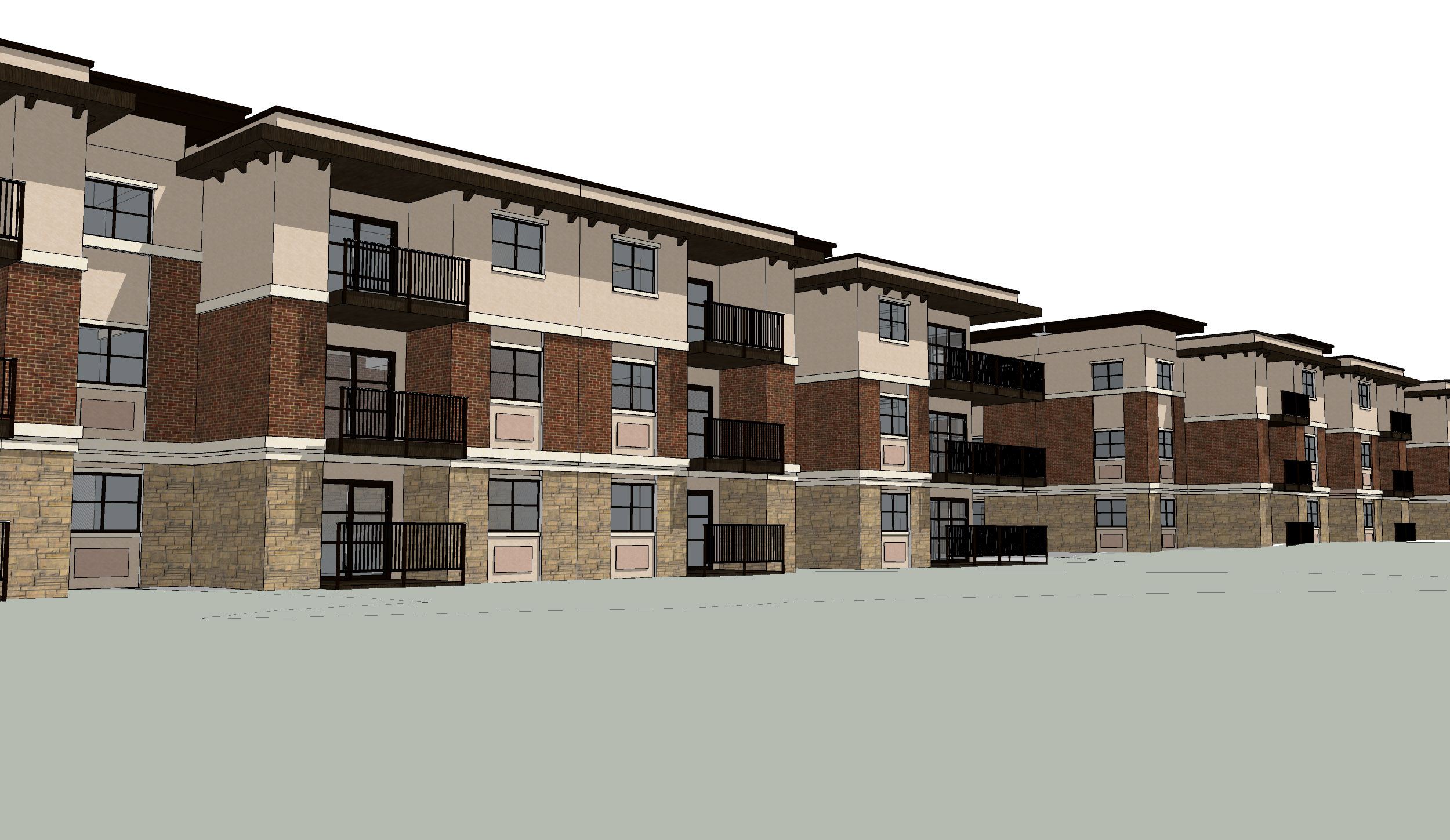 Owner: Corporate Pointe Developers Location: Richland, WA   This housing development located on the Tri-Cities campus of Washington State University, is designed to fill a need for quality housing for both WSU students as well as the surrounding community. The project will be constructed in 5 phases, and when complete will offer a recreational clubhouse, outdoor green space, and direct access to the river.