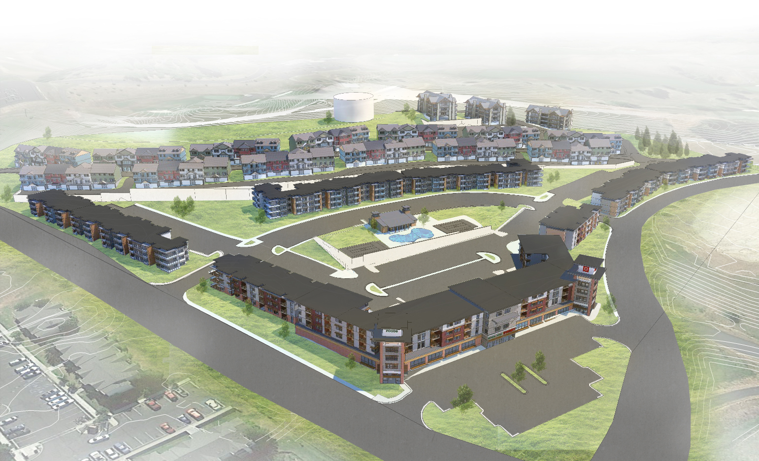 Washington State University Fairway Housing Development
