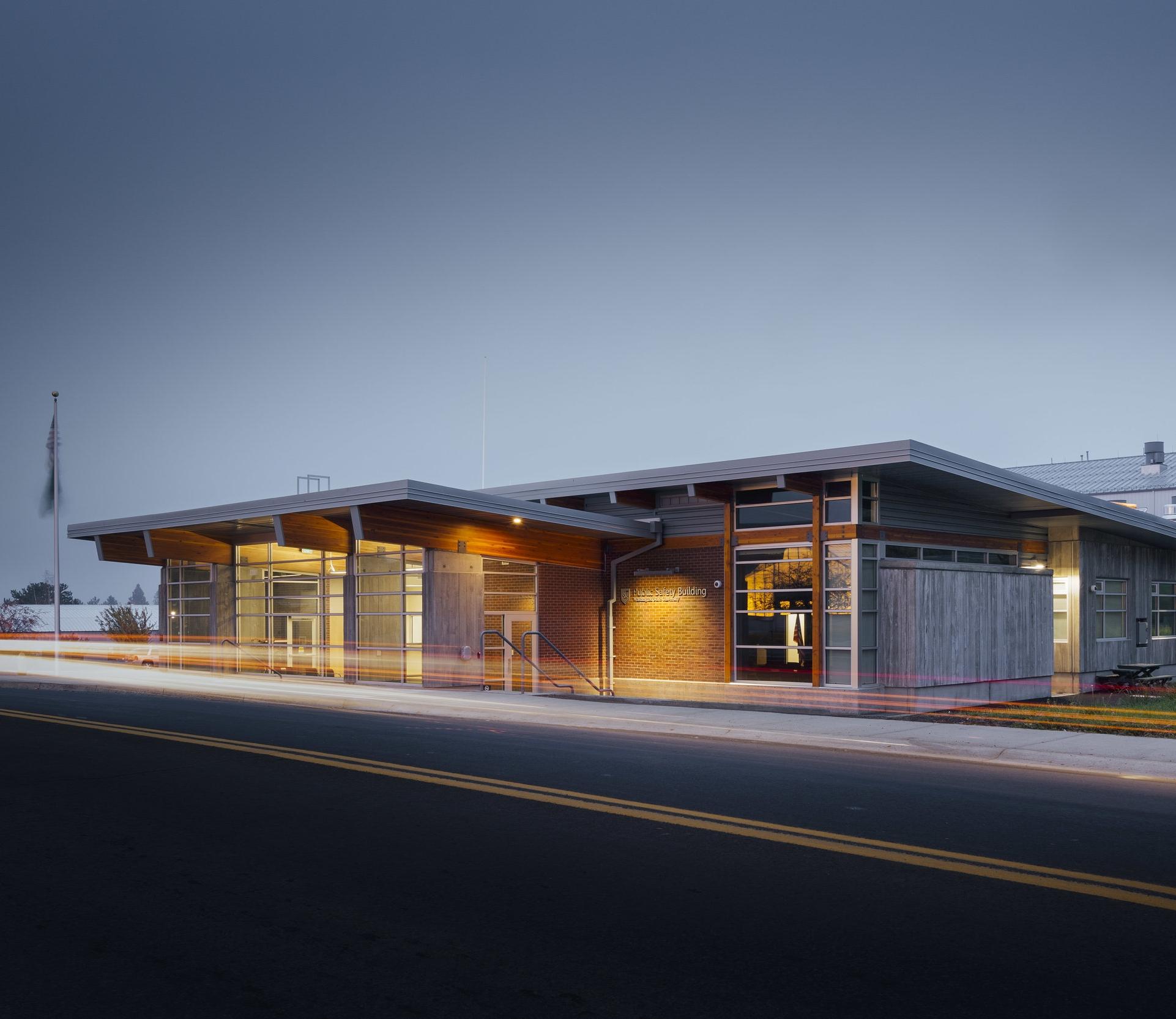 Washington State University   Public Safety Building