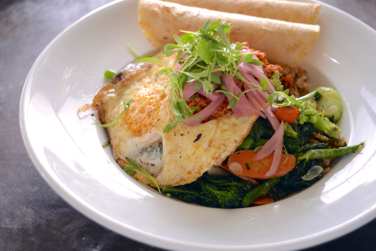 Freshest Seafood Omelette
