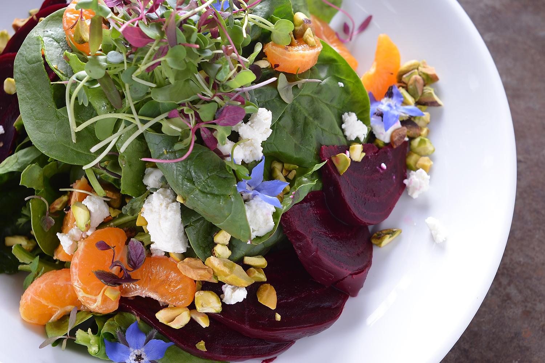 Seasonal Spinach Salad