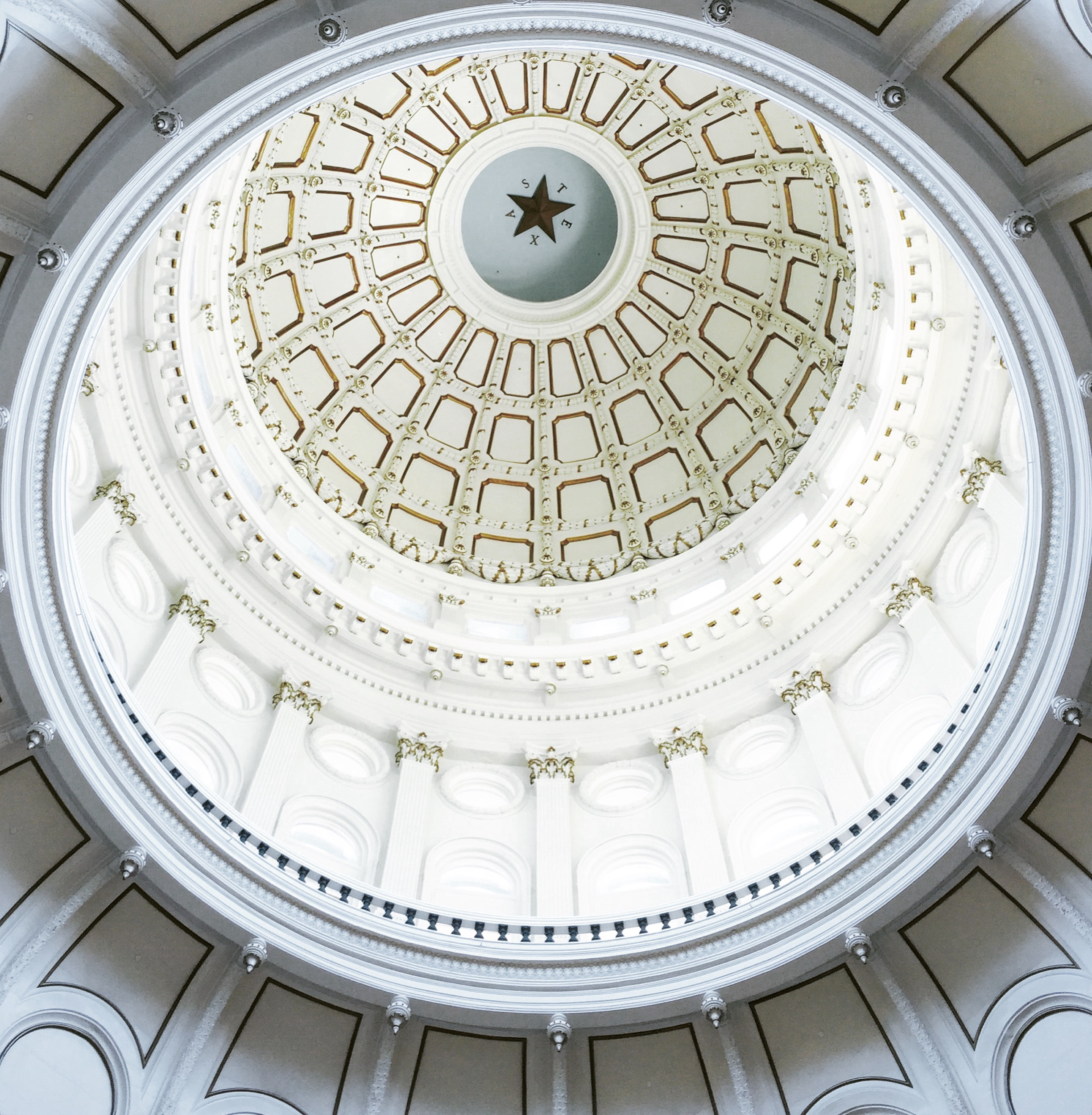 Rotunda of the State Capital, Austin, TX