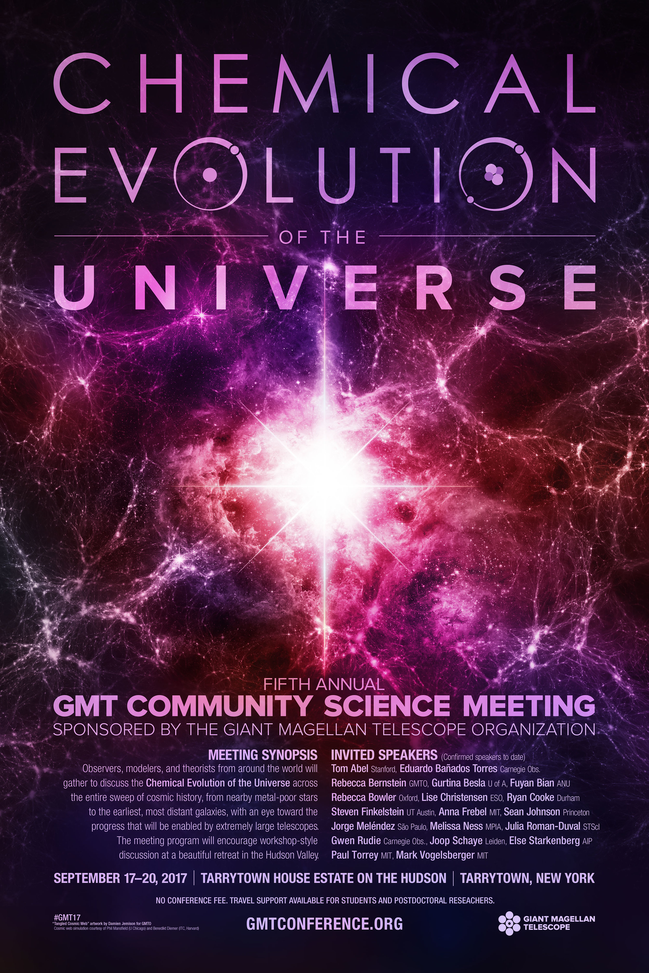 Sixth Annual GMT Community Science Meeting Poster.    Download a PDF Here