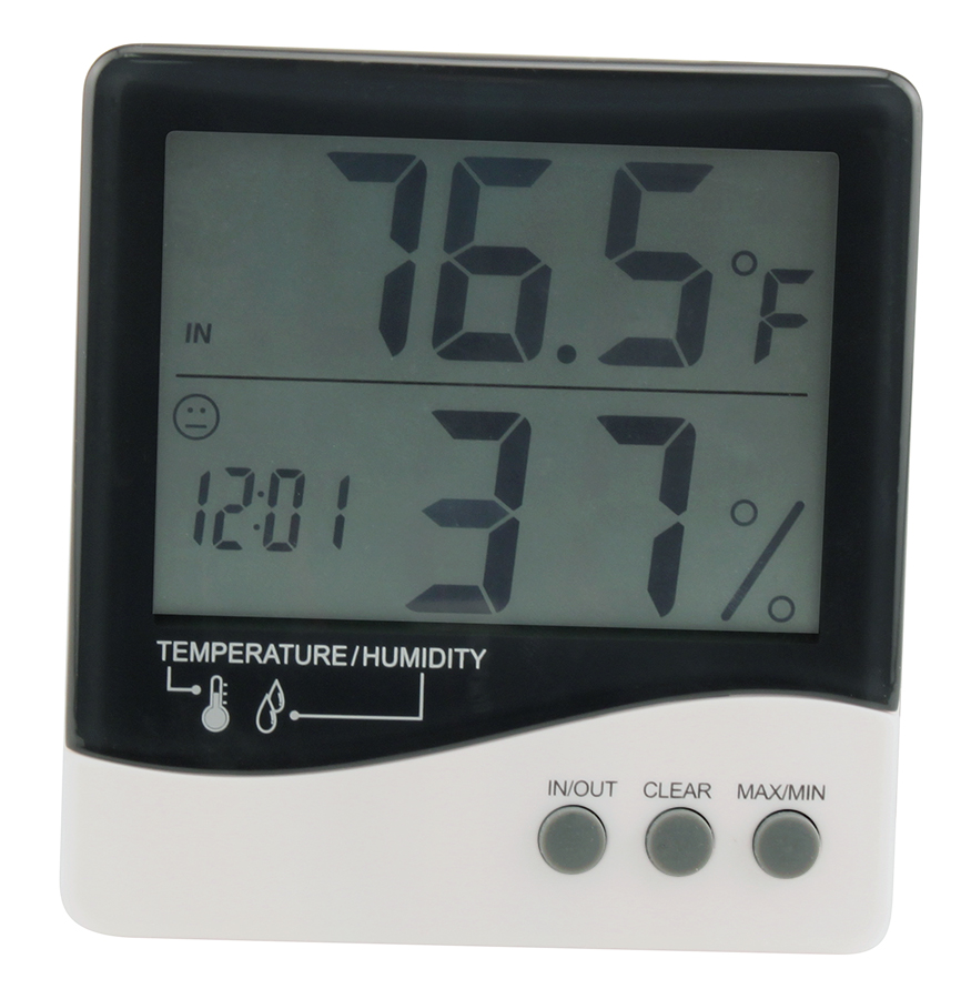 Grower's Edge Hygro-Thermometer