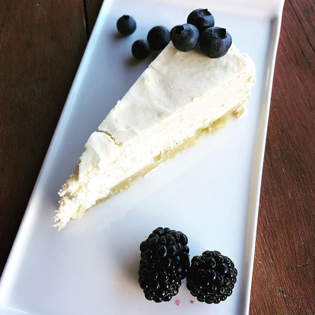 Stop in for our fresh Low Carb Cheesecake