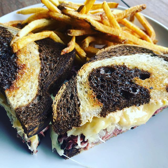 It's that time again. Our house Smoked Pastrami Reuben Sandwiches Today