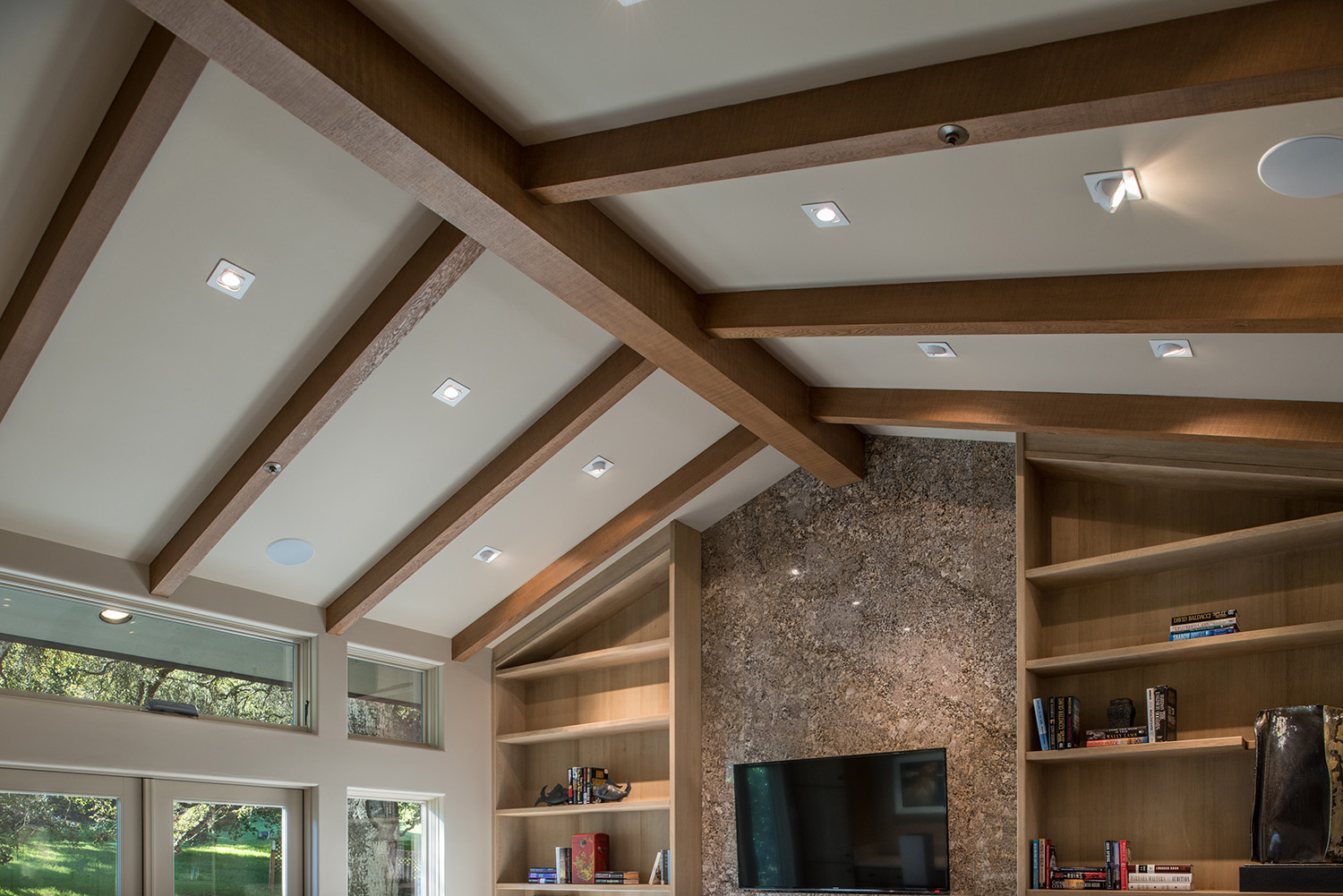 Beamed Ceiling