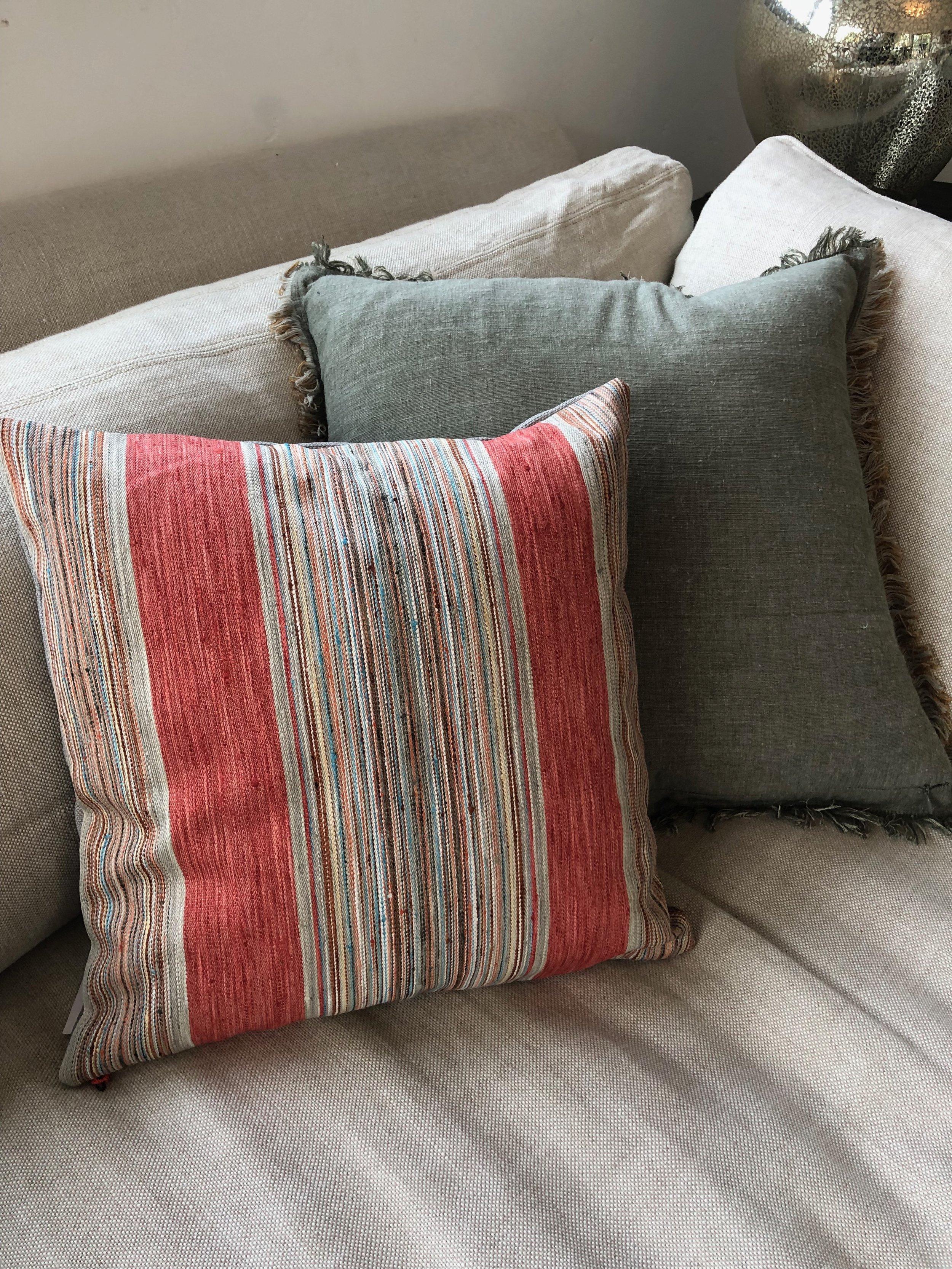 Fler Striped Pillow -