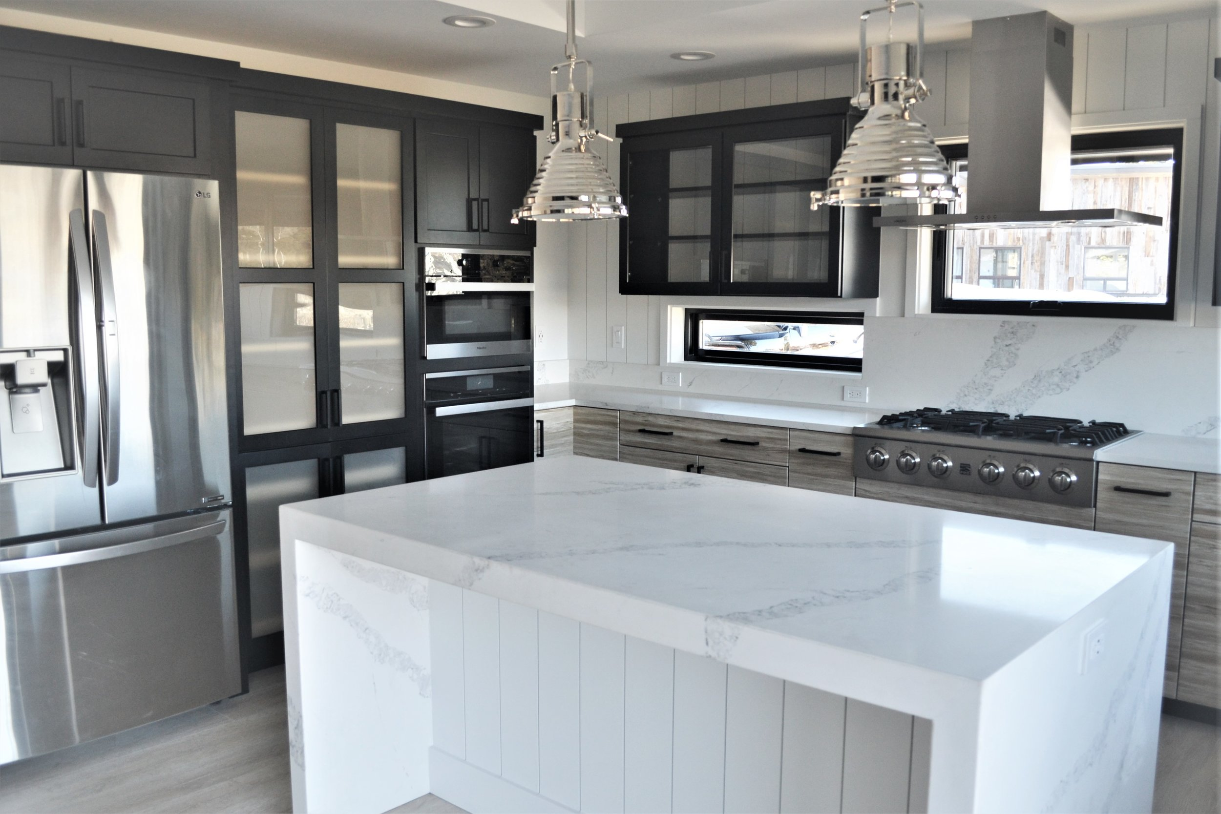 Modern white and stainless kitchen.JPG