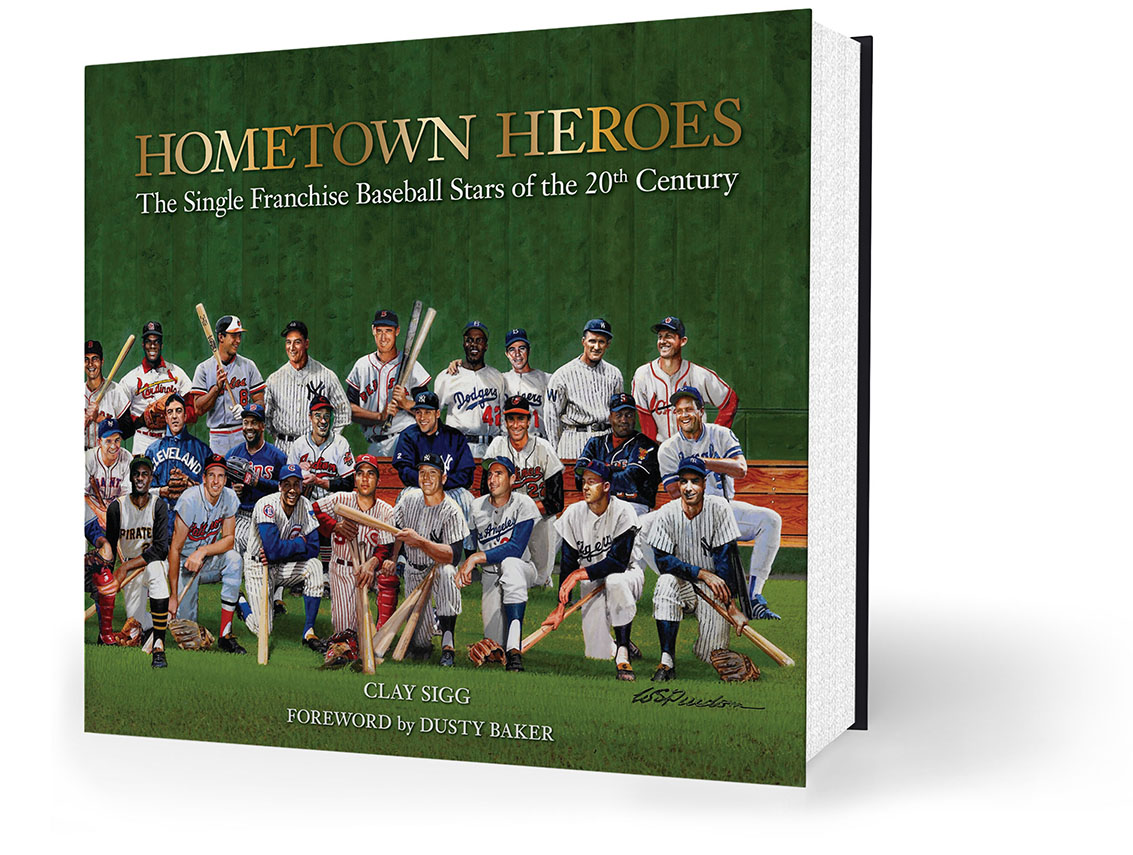 Hometown Heroes is a beautifully designed 391 page hardbound book.
