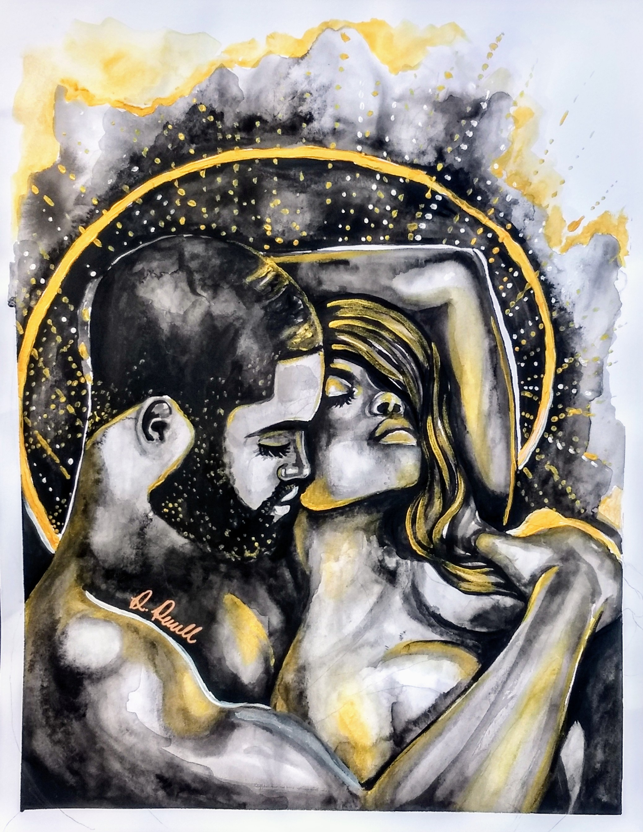 Intimacy Art By Destiney Powell Poetically Illustrated Art.jpg