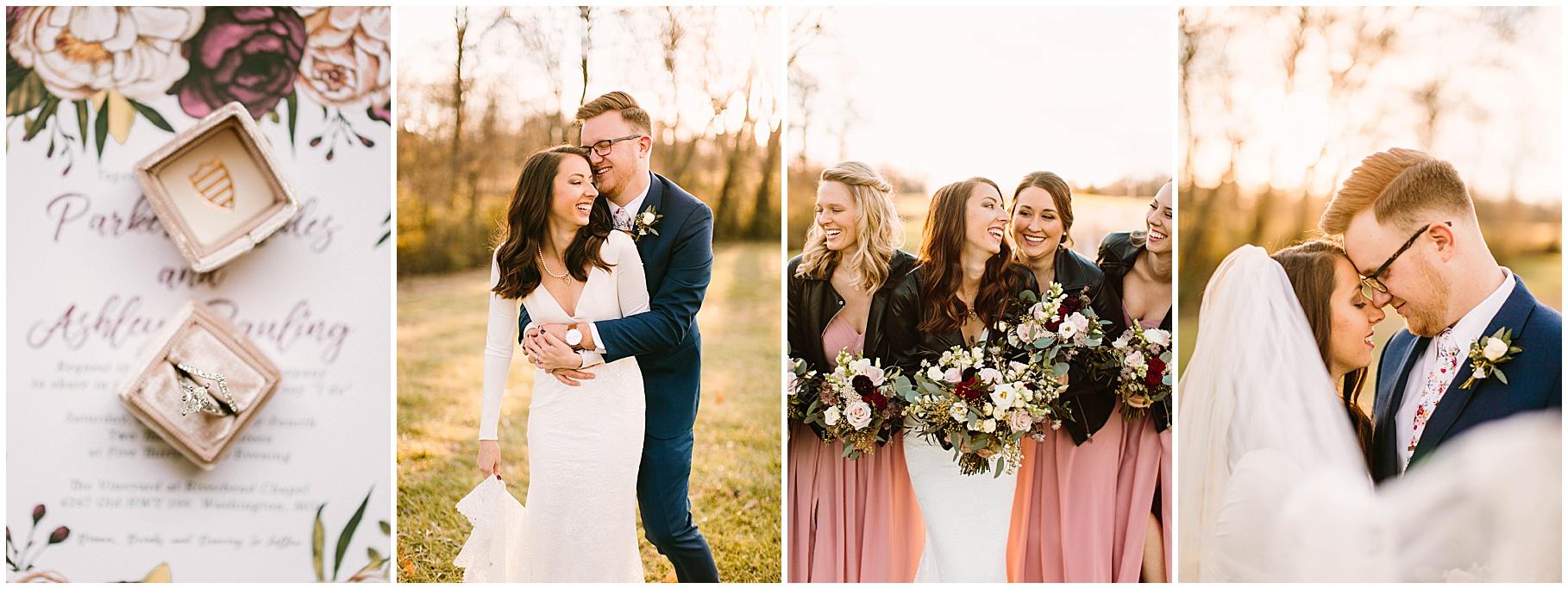 Veronica young photography, St. Louis wedding photographer, leather jacket wedding inspo
