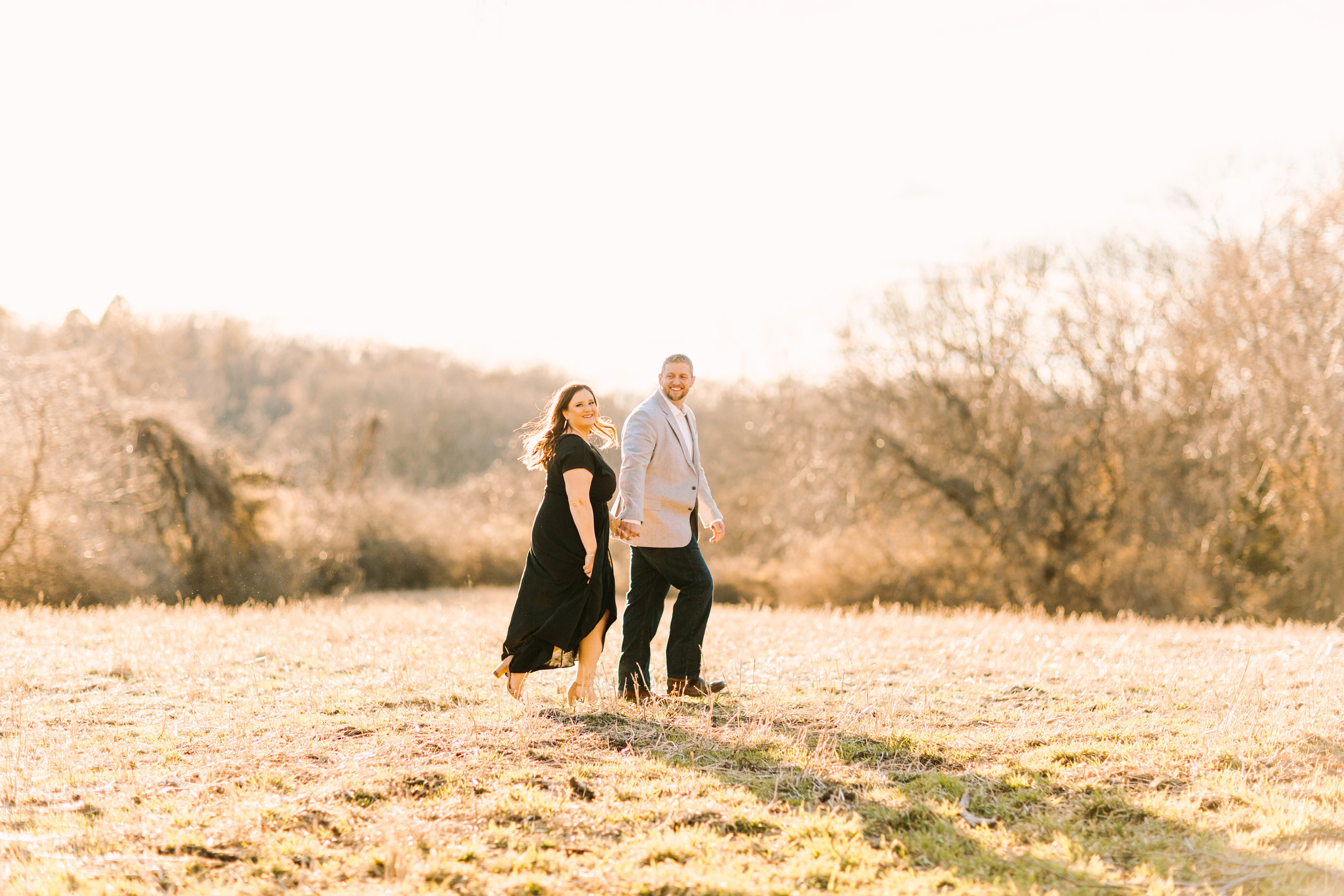 Veronica Young Photography, Spring engagement session, St. Louis wedding photographer