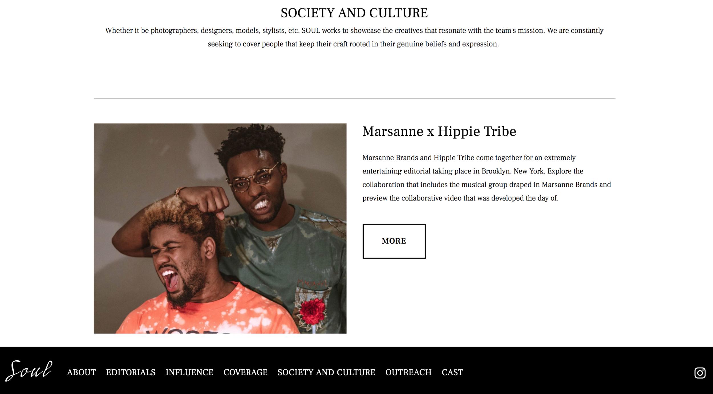 set my soul online - MARSANNE BRANDS x Hippie Tribe Collaboration