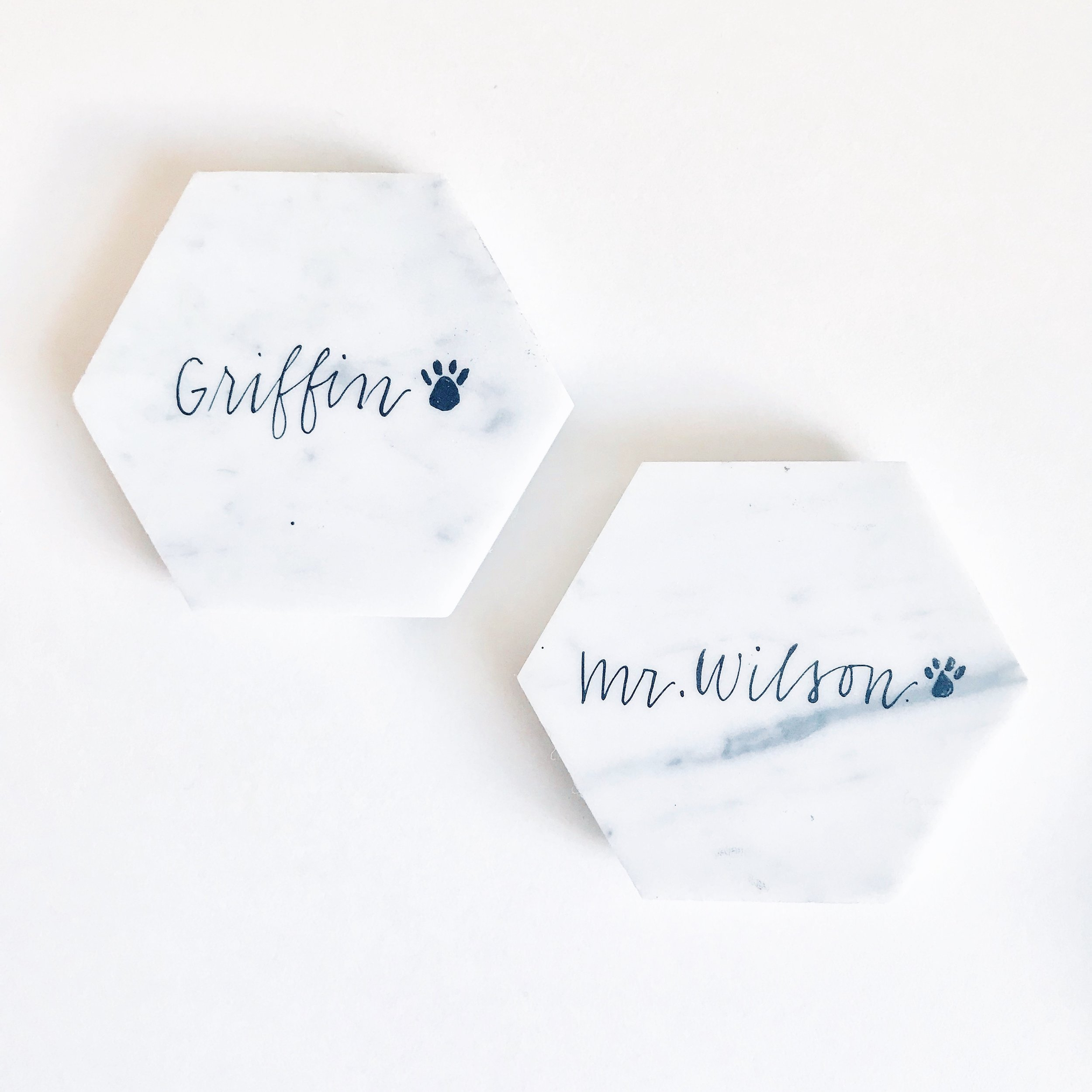 Custom Coasters by Priscilla Anne